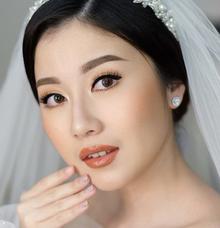 Wedding Makeup by Silvia Jonathan