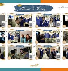 Hauta & Winny Virtual Online Wedding Live Streaming Reception by Truevindo