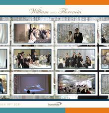 William & Florencia Virtual Online Wedding Live Streaming Reception by Truevindo
