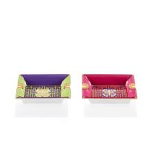 Colourblock Shou Mini Tray set of 2 by Shanghai Tang