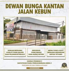 Dewan Bunga Kantan Jalan Kebun by KLASSIQUE TOUCH WEDDING & EVENT MANAGEMENT