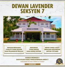 Dewan Bunga Lavender by KLASSIQUE TOUCH WEDDING & EVENT MANAGEMENT