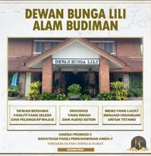 Dewan Bunga Lili Alam Budiman by KLASSIQUE TOUCH WEDDING & EVENT MANAGEMENT