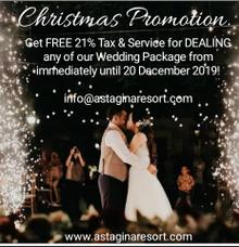 Christmas Promotion! by Astagina Resort Villa & Spa Bali