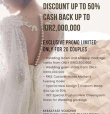 Promo Anniversary Tracy Bridal House by Tracy Bridal House
