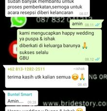 testi puspa & ishak by Point One Wedding Organizer