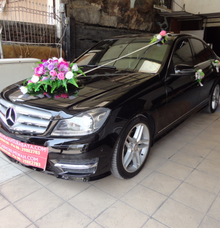 Promo Sewa Mercy C Class Warna Hitam Surabaya by SENTOSA JAYA VIP WEDDING CARS SURABAYA