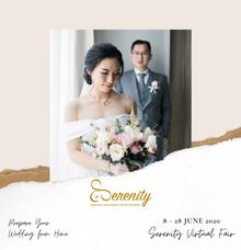 Serenity Wedding Virtual Fair by Serenity wedding organizer