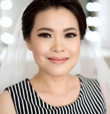 Wedding makeup trial for Ms Susi by Silvia Jonathan