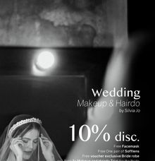 SPECIAL PROMOTION FOR WEDDING MAKEUP AND HAIR by Silvia Jonathan
