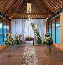 Wedding at Sthala Chapel by Sthala, A Tribute Portfolio Ubud Bali by Marriott International