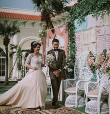 Wedding Decor For Brian & Nesya At Le Ballroom by Red Velvet Wedding