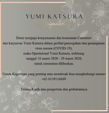 announcement by Yumi Katsura Signature