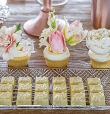 Blush Pink Luncheon by Candybar Couture