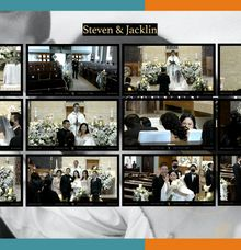 Steven & Jacklin Virtual Online Wedding Live Streaming Holy Matrimony by Truevindo