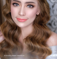 Sister of Bride Makeup for Ms. Lian by StevOrlando.makeup