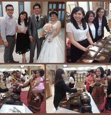 Fushen & Lianda Wedding  by Boens Bakery