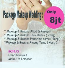 Promote Wedding Package by Rias rose