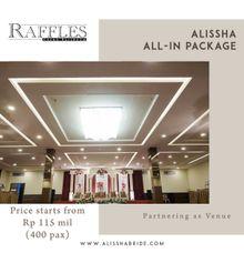 OUR VENUE - RAFFLES GRAND BALLROOM MALL BALEKOTA by Alissha Bride