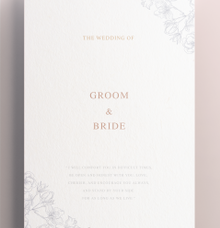 Custom Design Portfolio by Bestow Invitation