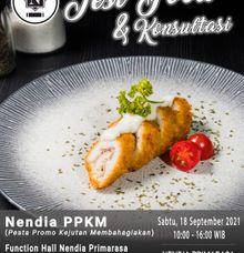 Testfood & Konsultasi Pernikahan by Nendia Primarasa Catering
