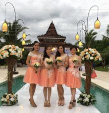 Bridesmaids Dress by Pazzione De Luxe