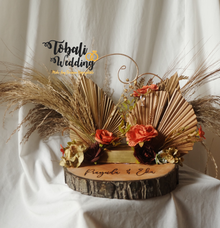 RINGBEARER ADINATA RUSTIC PALM LEAF by Tobaliwedding