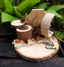RINGBEARER RUSTIC ONE SET by Tobaliwedding