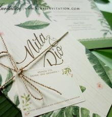 Nita & Rio by Vinas Invitation