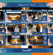 Daniel & Tessa Virtual Online Wedding Live Streaming Holy Matrimony by Truevindo