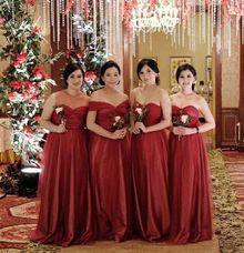 Bridesmaid of Ridwan & Pratiwi Wedding by The White Gallery