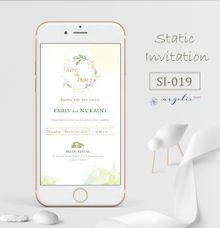 E-Invitation |  Undangan Pernikahan Digital SI-019 by ANYELIR STUDIO