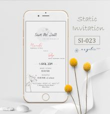 E-Invitation |  Undangan Pernikahan Digital SI-023 by ANYELIR STUDIO