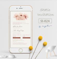 E-Invitation |  Undangan Pernikahan Digital SI-024 by ANYELIR STUDIO