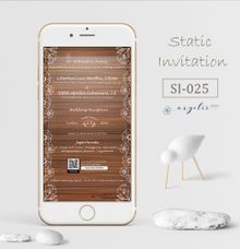 E-Invitation |  Undangan Pernikahan Digital SI-025 by ANYELIR STUDIO