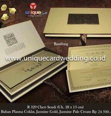 undangan box by unique card wedding invitation