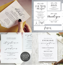 wedding invitation by TwentyOneStudios