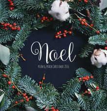 Joyeux Noel by Plum & Peach Floral