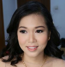 Party Makeup & Hairdo by MarisaFe Bridal