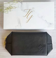 Vanity Pouch for favor - Tim & Gabby by Red Ribbon Gift