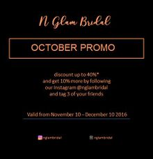 PROMO by N Glam Bridal