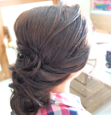 Hairdo for E-day by VONYTJAN