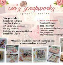 Katalog Dan Promo by Cin's Scrapworks