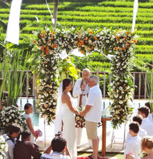 Wedding at Villa Junno by Nagisa Bali