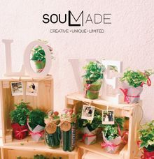 Ivies Plant Pot by Soulmade Design