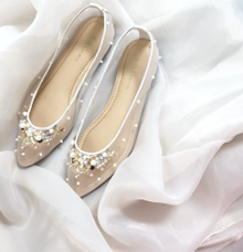 Flat shoes by Wen Custom & Bridal Shoes