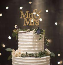 Intimate Rustic Wedding of Dimas & Kartika by Amor Cake