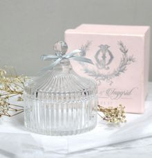 Crystal Jar for Rio & Inggrid by Red Ribbon Gift