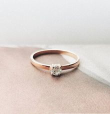 Clara Engagement Ring by From Tiny Islands