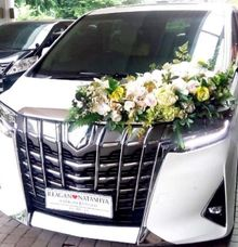 The Wedding of Reagan & Natashya by Priority Rent car
